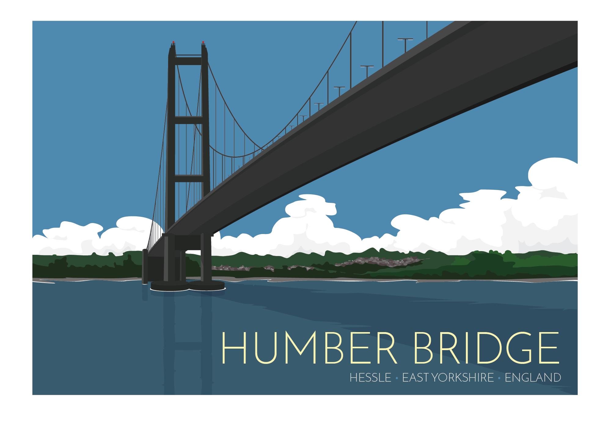 Georgina Westley Art Design Humber Bridge