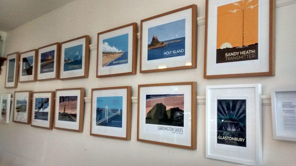 Art exhibition at Mama's Coffee Shop, Sandy-thumbnail