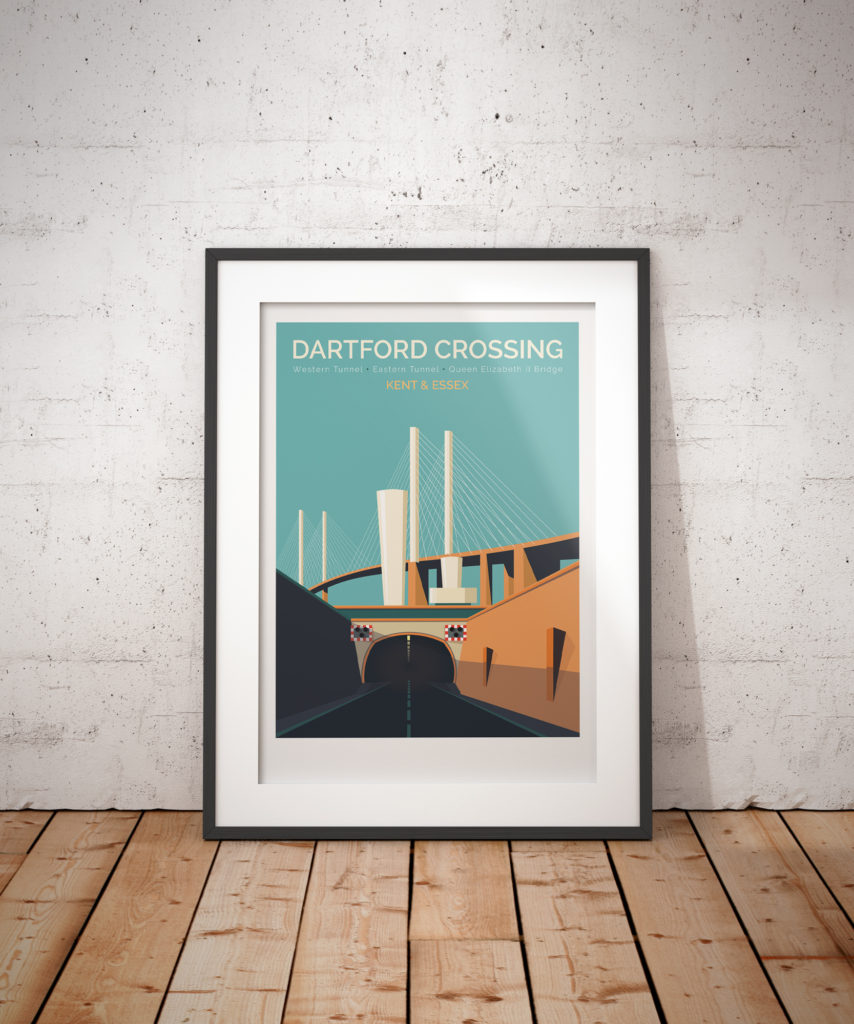 Dartford crossing in frame