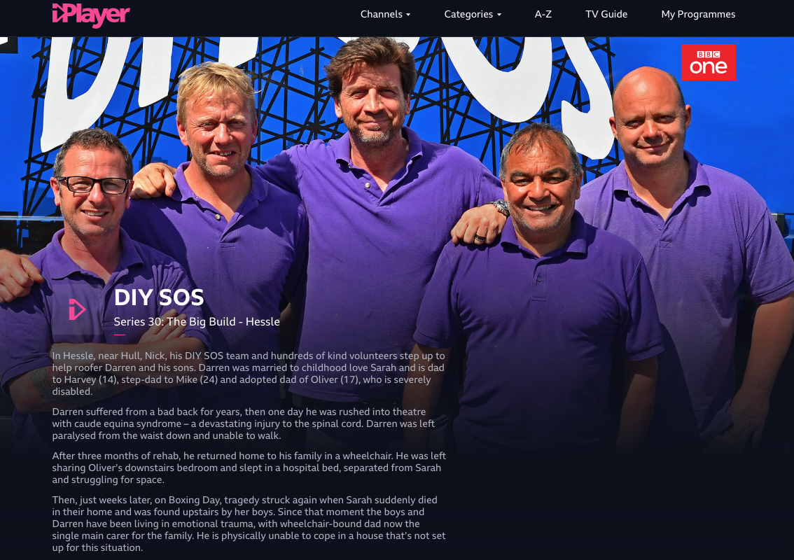 DIY SOS: The Big Build - Hessle