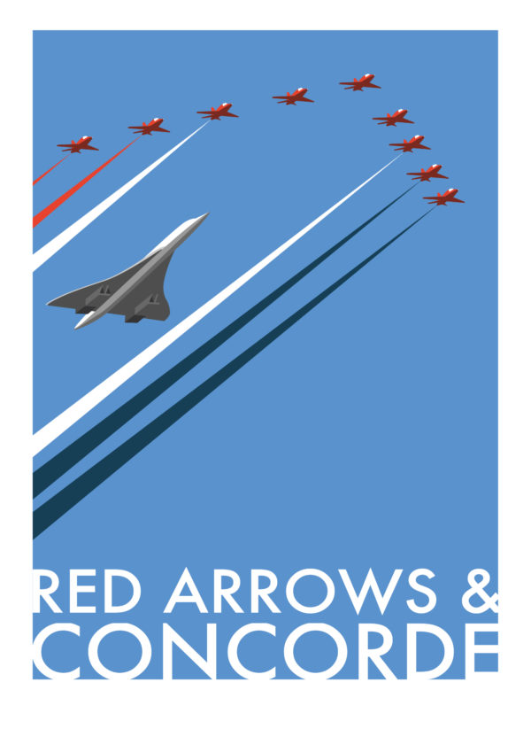Concorde and Red Arrows