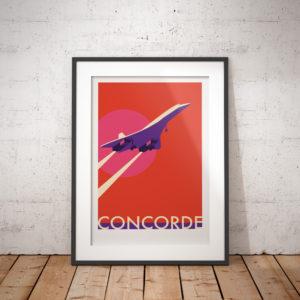 Concorde Sunset