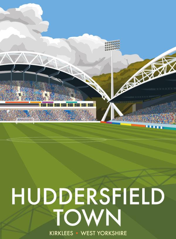 Stadium of Huddersfield Town FC