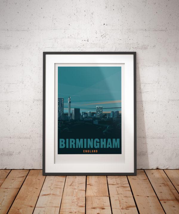 Birmingham City print