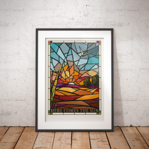 Stained Glass print