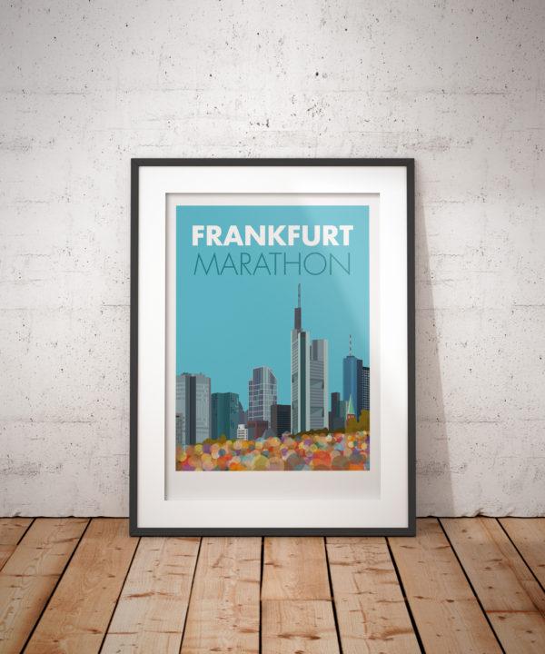 Frankfurt Marathon art print