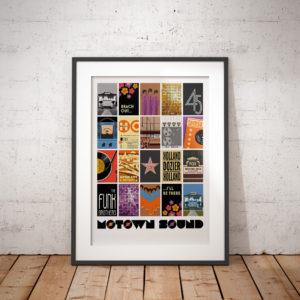 Framed art print of Motown Sound